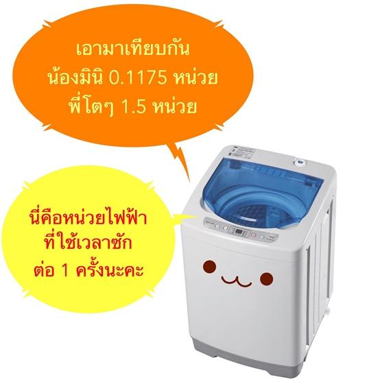 เครื่องซักผ้ามินิEasytoWashประหยัดมาก8